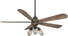 "Minka-Aire F852L-HBZ - Alva (LED) 56"" - Heirloom Bronze"