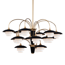 Hudson Valley 1015-AGB - 15 Light Chandelier