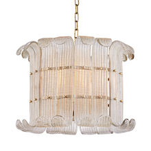 Hudson Valley 2908-AGB - 8 Light Chandelier