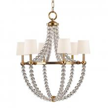 Hudson Valley 3116-AGB-WS - 6 Light Chandelier