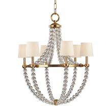 Hudson Valley 3116-AGB - 6 Light Chandelier