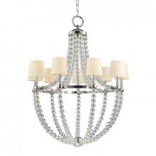 Hudson Valley 3119-PN - 9 Light Chandelier