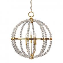 Hudson Valley 3130-AGB - 5 Light Chandelier