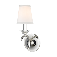 Hudson Valley 3191-PN - 1 Light Wall Sconce
