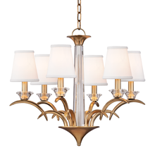 Hudson Valley 3196-AGB - 6 Light Chandelier