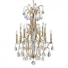 Hudson Valley 9329-AGB - 12 Light Chandelier