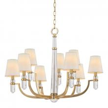 Hudson Valley 989-AGB - 9 Light Chandelier