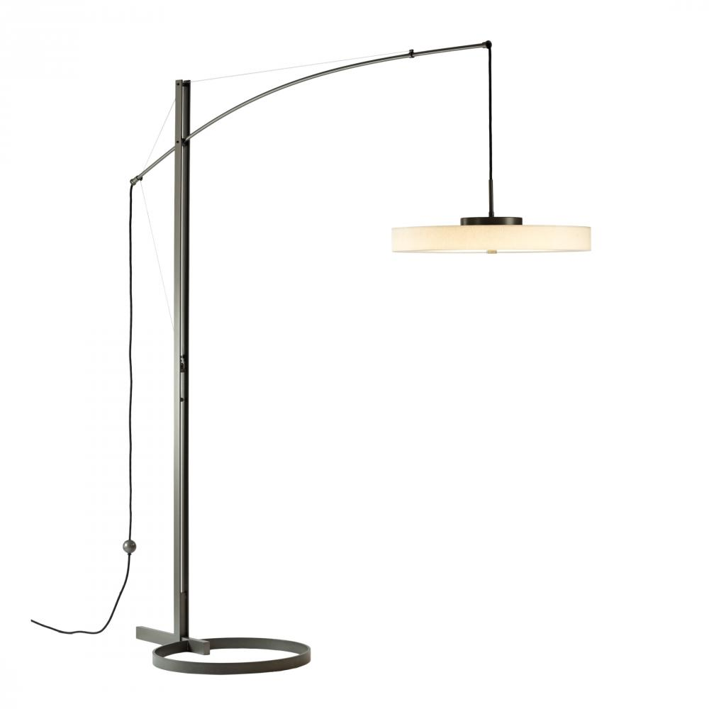 Main Line Lighting & Design in Paoli, Pennsylvania, United States, Hubbardton Forge 234510-LED-08-SH1970, Disq Arc LED Floor Lamp,