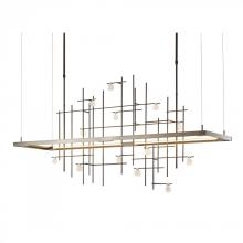 Hubbardton Forge 139751-LED-LONG-03-YG0500 - Spring LED Pendant