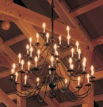 Hubbardton Forge 191572-SKT-03 - Ball Basket 36 Arm Chandelier