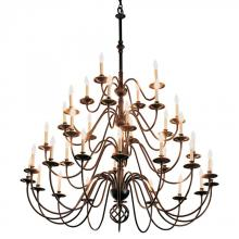 Hubbardton Forge 191572-SKT-84 - Ball Basket 36 Arm Chandelier