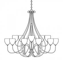 Hubbardton Forge 192166-SKT-84-GG0103 - Sweeping Taper 15 Arm Chandelier