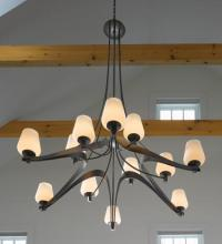 Hubbardton Forge 194156-SKT-03-GG0300 - Ribbon 12 Arm Large Scale Chandelier