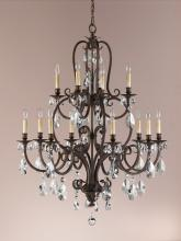 Feiss F2229/8+4ATS - 12- Light Multi-Tier Chandelier