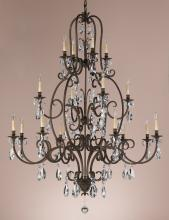 Feiss F2230/8+4+4ATS - 16- Light Multi-Tier Chandelier