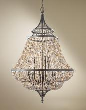 Feiss F2809/9RI - 9 - Light Multi Tier Chandelier