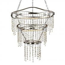 Feiss F3063/3SLA - 3 - Tier LED Chandelier