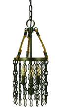 Framburg 1119 AB - 3-Light Antique Brass Warwick Mini Chandelier
