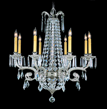 Framburg 1148 PS - 8-Light Polished Silver Czarina Dining Chandelier