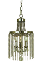 Framburg 1167 PN - 3-Light Polished Nickel Guinevere Mini Chandelier