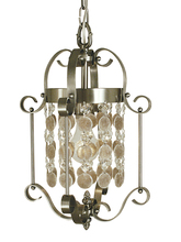 Framburg 2921 MB - 1-Light Mahogany Bronze Naomi Mini Chandelier