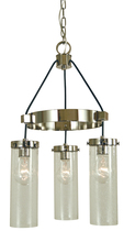 Framburg 4753 AB - 3-Light Antique Brass Hammersmith Chandelier