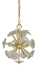 Framburg 4814 BN - 4 Light Apogee Brushed Nickel Mini Chandelier