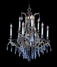 Framburg 8429 PS - 9-Light Polished Silver Czarina Dining Chandelier