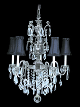 Framburg 9285 HB/BEIGE - 5-Light Harvest Bronze Czarina Dining Chandelier
