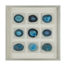 Uttermost 04131 - Uttermost Cerulean Blue Stone Shadow Box