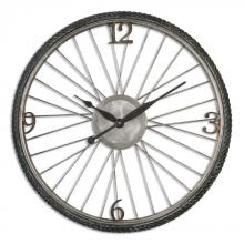 Uttermost 06426 - Uttermost Spokes Aged Wall Clock