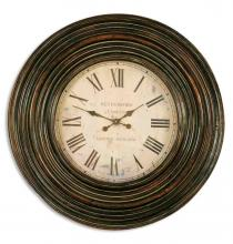 "Uttermost 06726 - Uttermost Trudy 38"" Wooden Wall Clock"