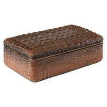 Uttermost 18897 - Uttermost Nyra Crocodile Box