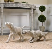 Uttermost 19920 - Uttermost Hudson And Penny Dog Sculptures, S/2