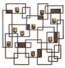 Uttermost 20850 - Uttermost Siam Metal Candlelight Wall Sculpture