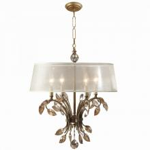 Uttermost 21245 - Uttermost Alenya 4 Light Gold Metal Chandelier