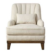 Uttermost 23441 - Uttermost Denney Oatmeal Accent Chair