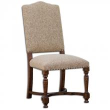 Uttermost 23623 - Uttermost Pierson Textured Linen Accent Chair