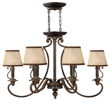 Hinkley 4245OB - Chandelier Plymouth