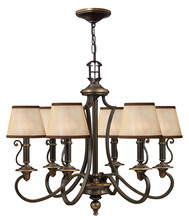 Hinkley 4246OB - Chandelier Plymouth