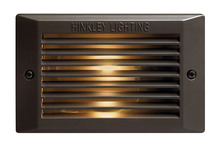 Hinkley 58015BZ-LED - Landscape Line Voltage Deck LED