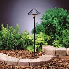 Kichler Landscape 15826BKT30R - Led Center Mount Path Light
